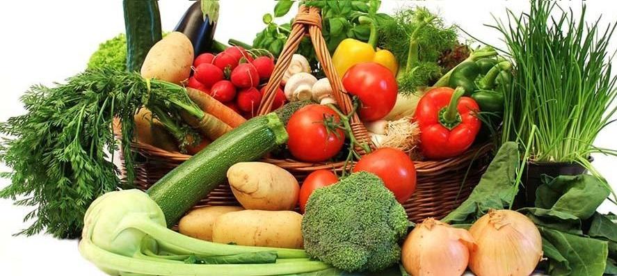 شام با سبزیچات